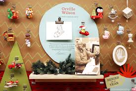 hallmark artists create a new display for the keepsake ornaments