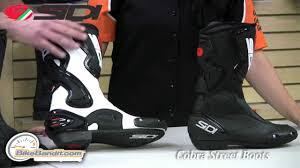 street motorcycle boots sidi street boots at bikebandit com youtube