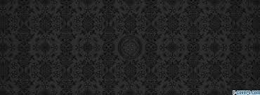 grey black damask pattern cover timeline photo for fb