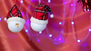 new year toys two santa clauses in shapes christmas decoration christmas