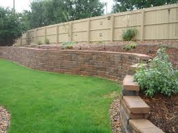 Cinder Block Decorating Ideas by Decor Home Depot Concrete Blocks Wall For Chic Garden Decoration