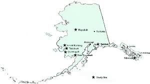 alaska major cities map study of alaska rural systemic reform report