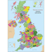 Map Of The United Kingdom Buy United Kingdom Map Vinyl A1 Tts