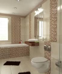 jugendstil badezimmer ideen geräumiges badezimmer in braun mosaik jugendstil