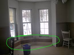 kitchen cabinets bay window seat breakfast nook for tasty and