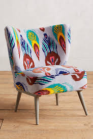 Ikat Armchair Marialle Ikat Occasional Chair Anthropologie