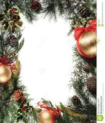 christmas decoration frame royalty free stock image image 346866
