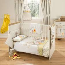 Dunelm Mill Nursery Curtains Disney Winnie The Pooh Nursery Cot Bed Duvet Cover Set Dunelm