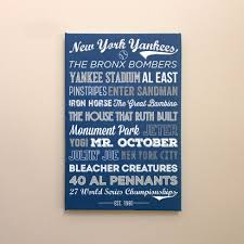 new york yankees canvas or poster