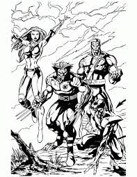 film marvel wolverine coloring pages wolverine coloring pages films