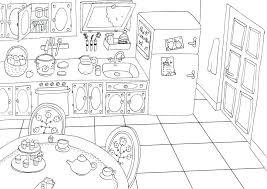 coloriage cuisine coloriages de cuisine coloriage de cuisine a imprimer