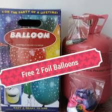 disposable helium tank disposable helium tank with balloons design craft on carousell