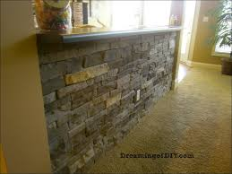furniture stone adhesive home depot lowes flagstone wall faux