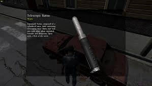 dayz 0 49 telescopic baton in game screenshot dayz tv