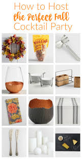 how to host the perfect fall cocktail party bees funky junk and