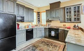 grey stained kitchen cabinets diy distressed kitchen cabinets design pictures designing idea