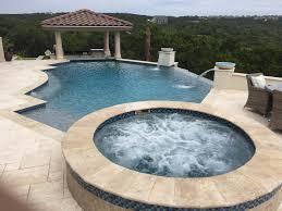 Pool With Pergola by Freeform New Braunfels Contemporary Spring Branch San Antonio