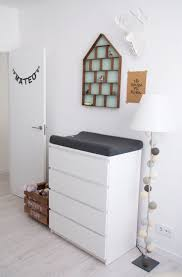 bedroom cool changing table topper baby design with white drawer
