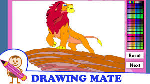 lion king coloring pages kids colouring sheets kolorowanki