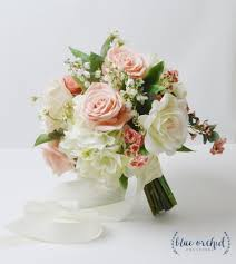 silk bridal bouquets silk wedding bouquet 3 weddbook 50th anniversary cakes affordable