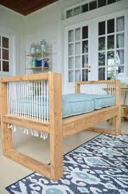 Bench Made From 2x4 Outdoor Bench 2x4 And More With Remodelaholic At