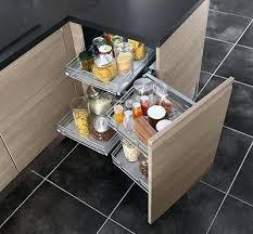 armoire en coin cuisine cuisine en coin rangement pour armoire de cuisine en coin