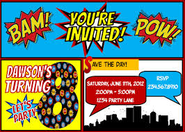 superhero party invitations plumegiant com