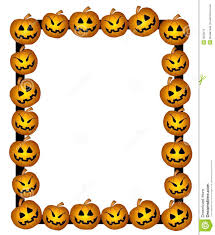 scary halloween borders halloween border clipart free clipartxtras