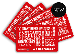 gifts cards wetherspoon gift cards birthday presents j d wetherspoon