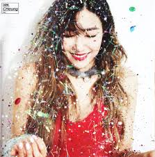 girl photo album 151204 snsd taetiseo the 3rd minim album dear santa photobook