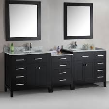 Modular Bathroom Vanity by Shop Design Element London Espresso Undermount Double Sink