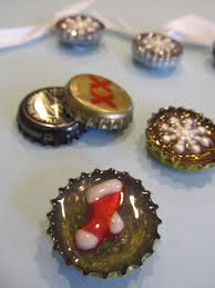 bottle cap ornaments random acts of creativity by
