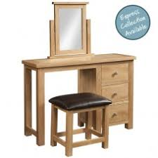 Single Pedestal Dressing Table Devonshire Living Dressing Tables
