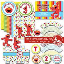 sesame street elmo party pack printables saved pc iya u0027s