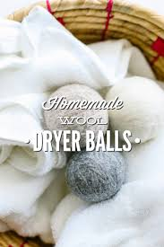 Dryer Doesn T Dry Clothes Diy Homemade Wool Dryer Balls Live Simply