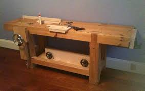 Popular Woodworking Roubo Bench Plans by Install A Sheldon Vise On A Roubo Woodworking Bench