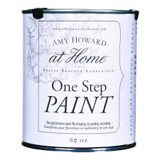 amy howard at home 32 oz paige blue one step chalk based paint