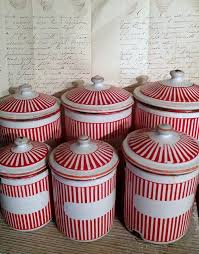 enamel kitchen canisters 84 best kitchen canisters images on kitchen canisters