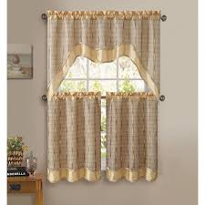 3 Piece Curtain Rod Best 25 Kitchen Curtain Sets Ideas On Pinterest Tab Curtains