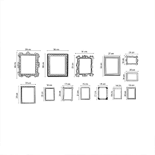 picture frame stickers for wall custom wall stickers wall art sticker frames photo frames wall stickers