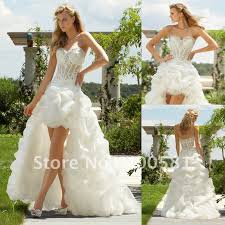 high low ruffle wedding dress pretty sheath high low style sequin mini skirt layered