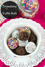 halloween chocolate balls brigadeiros brazilian chocolate fudge balls living sweet moments