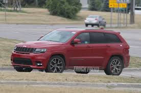 camo jeep grand cherokee spied jeep grand cherokee trackhawk totally undisguised