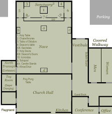 Catholic Church Floor Plans by Church Layout Map A Photo On Flickriver
