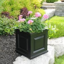planters inspiring black square planters black square planters