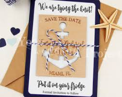 nautical save the date nautical save date etsy