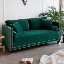 hatfield designer sofa collection gold studs choose fabric