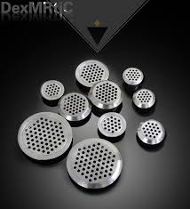Cabinet Door Vents 10pcs 19mm 25mm 35mm Wardrobe Shoe Cabinet Ventilating Mesh