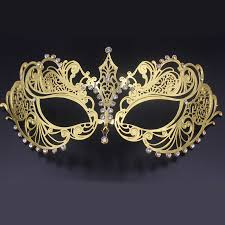 gold masquerade mask aliexpress buy luxury venetian metal laser cut