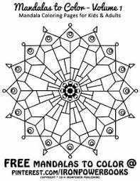 mandala circles coloring pages design digi stamps